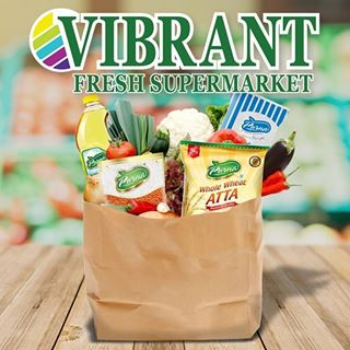 Vibrant Fresh Supermarket