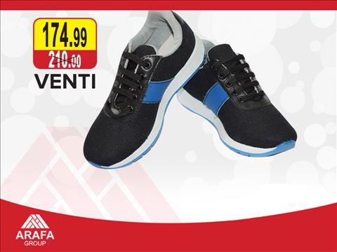 عروض عرفه أفضل و أرخص الأسعار على أحذية Venti الأصلية خلال الفتره 7 ديسمبر حتى 20 ديسمبر - 1 صوره